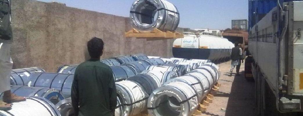 Afghanistan Steel Offloading