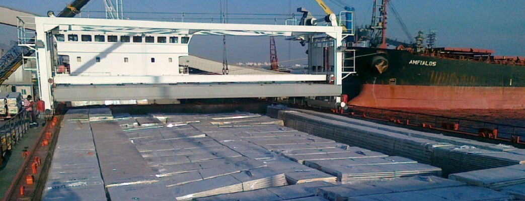 Russian Volga River Shipment