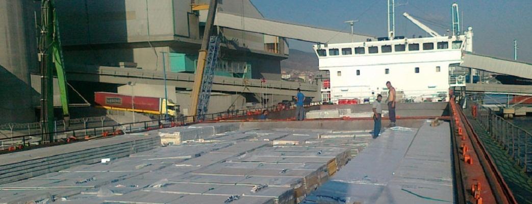 120,000 m2 Wall Panel Shipment